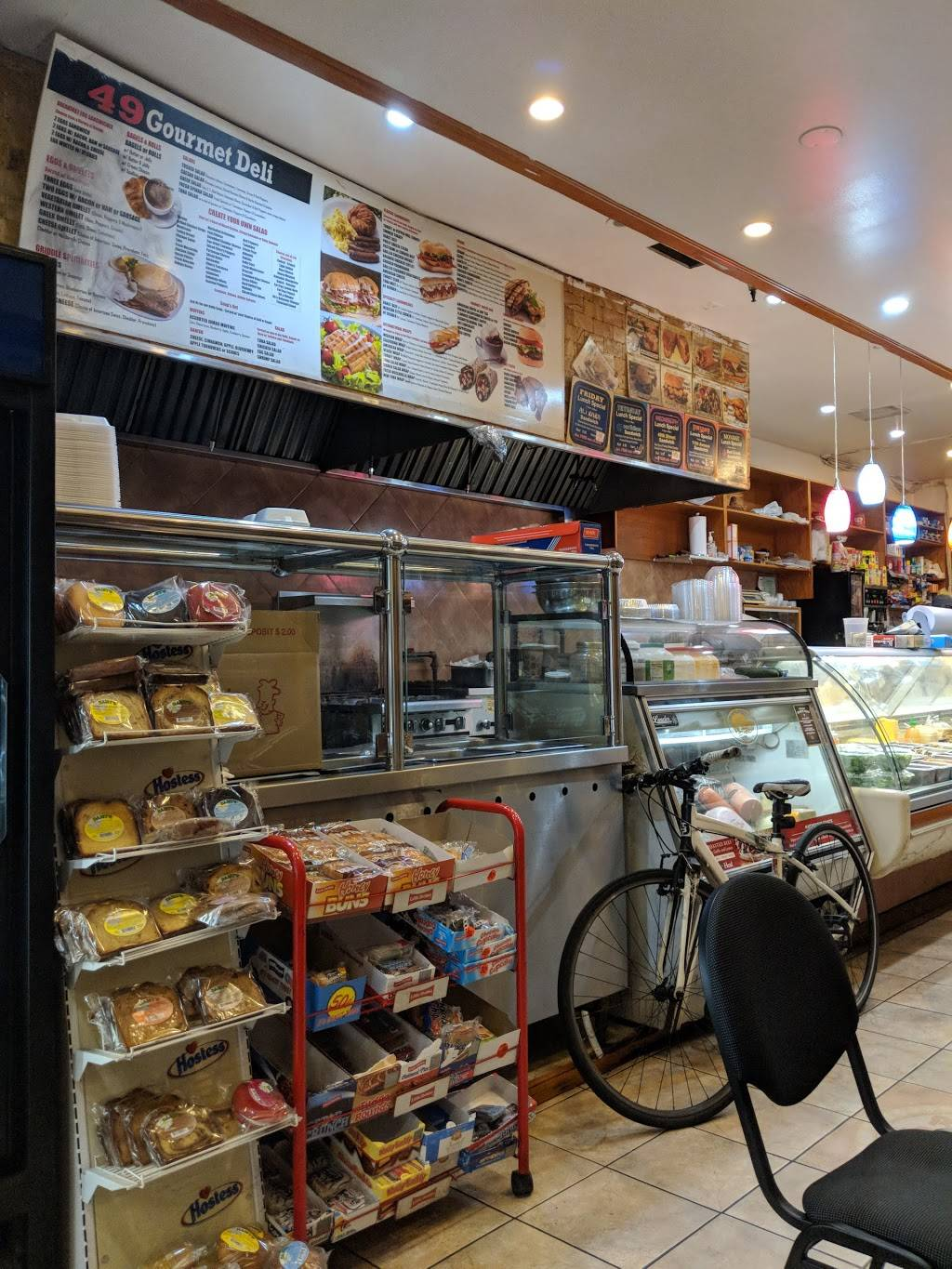 49 St Deli & Coffee House | restaurant | 682 11th Ave, New York, NY 10019, USA | 2122455551 OR +1 212-245-5551
