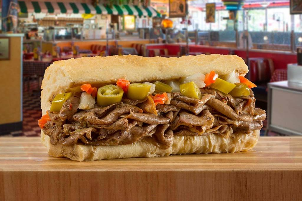 Portillos Hot Dogs   meal takeaway   100 W Lake St, Addison, IL 60101, USA   6306280358 OR +1 630-628-0358
