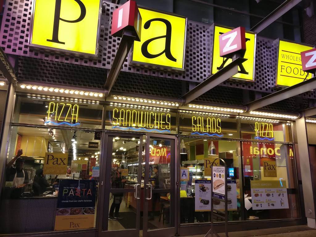 Pax Wholesome Foods | restaurant | 225 W 42nd St, New York, NY 10036, USA | 2128693535 OR +1 212-869-3535