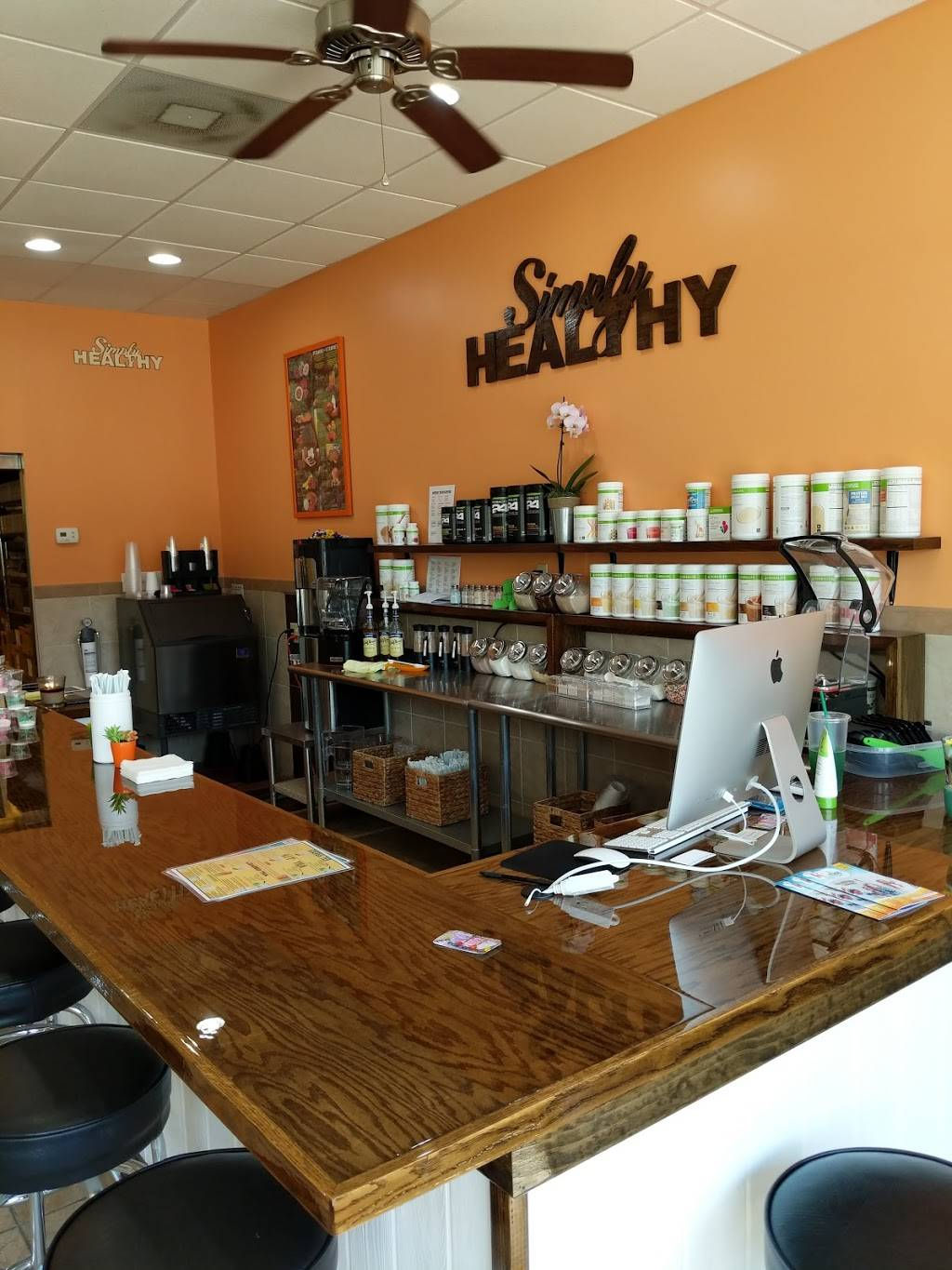 Simply Healthy | restaurant | 8753 Holly Springs Rd, Apex, NC 27539, USA | 9196506444 OR +1 919-650-6444