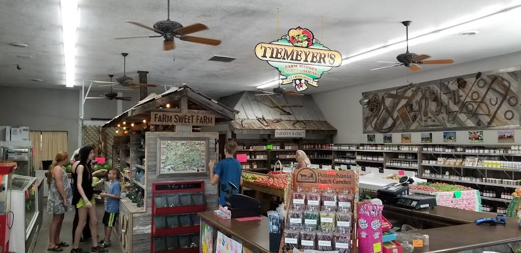 Tiemeyers Farm Market | restaurant | 3147 S County Rd 300 W, Vallonia, IN 47281, USA | 8123585618 OR +1 812-358-5618