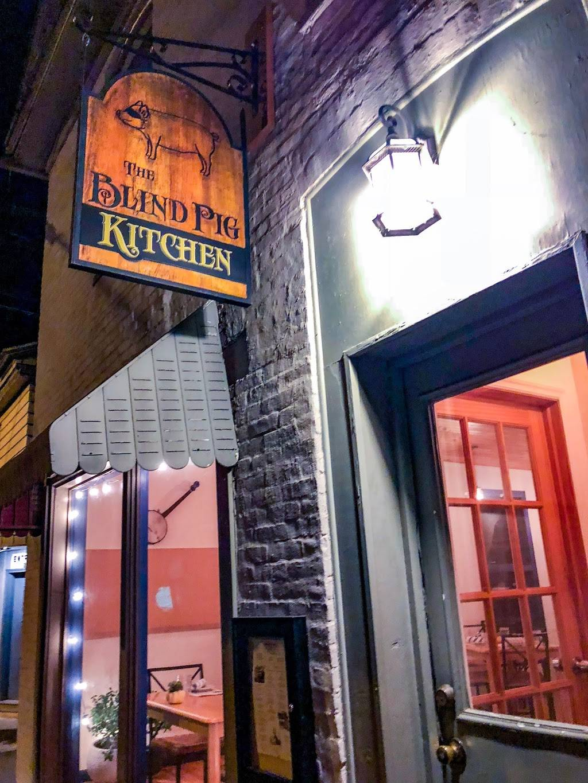 The Blind Pig Kitchen Restaurant 236 Iron St Bloomsburg Pa 17815 Usa