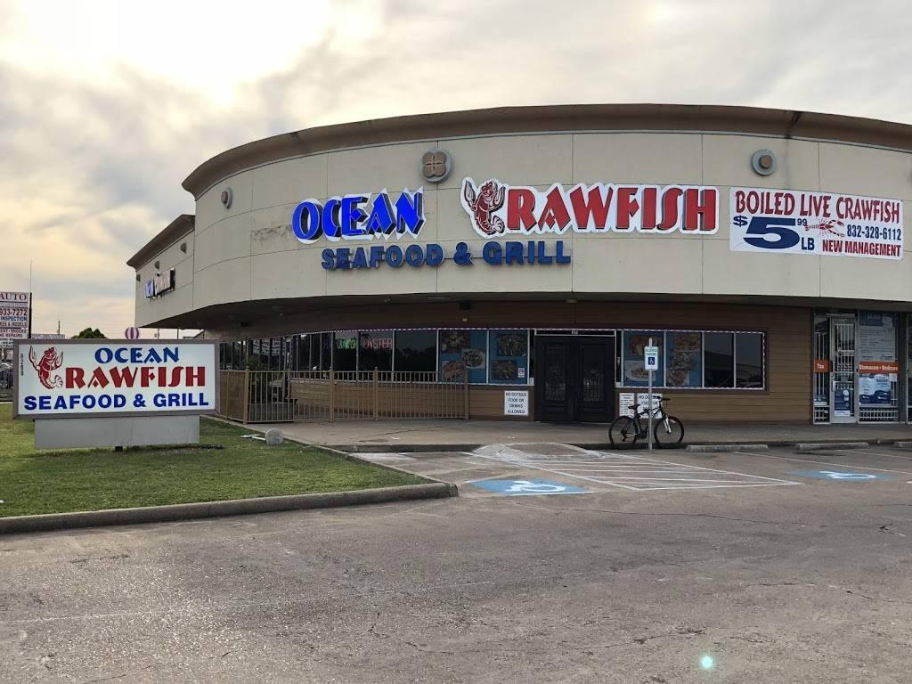 Ocean Crawfish | restaurant | 8200 Wilcrest Dr #27, Houston, TX 77072, USA | 8323286112 OR +1 832-328-6112