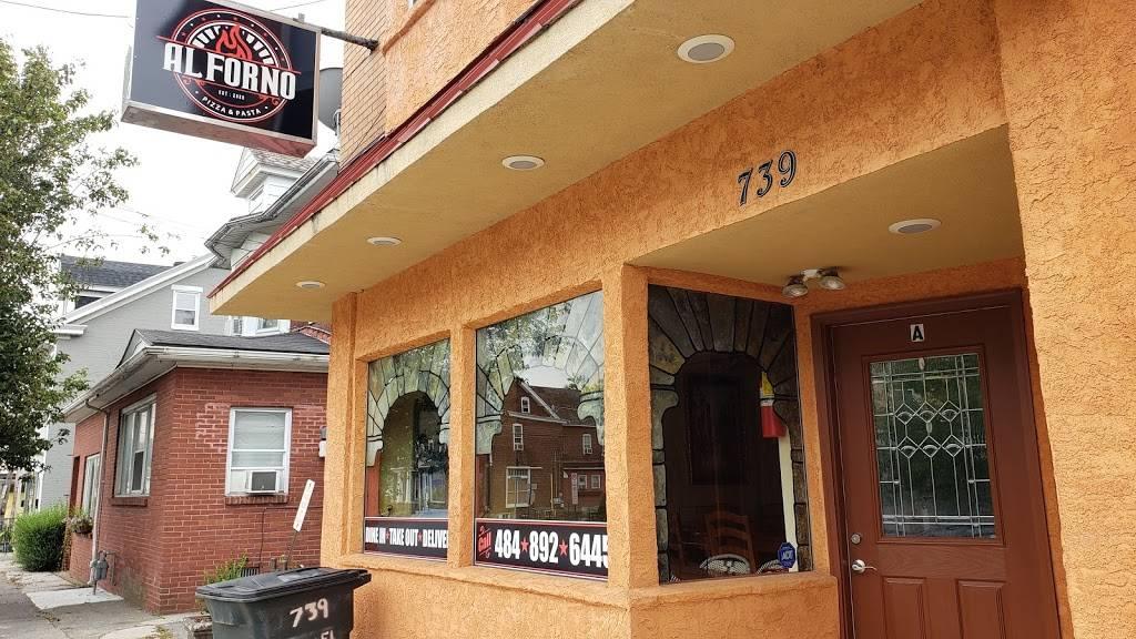 Al Forno Pizza & Pasta   restaurant   739 Linden St, Bethlehem, PA 18018, USA