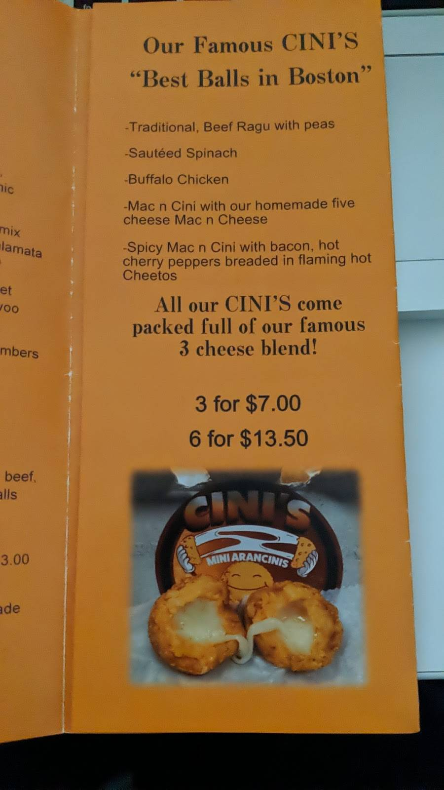 CINIS | meal takeaway | 252 Friend St, Boston, MA 02114, USA | 8572334359 OR +1 857-233-4359
