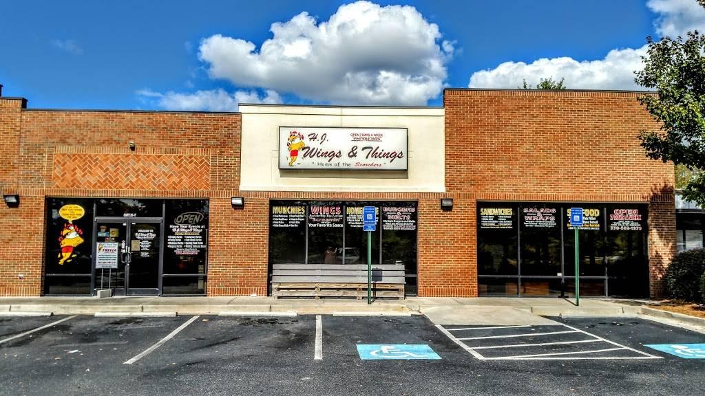 HJ Wings & Things   meal takeaway   20 Thomas Grace Annex Ln, Sharpsburg, GA 30277, USA   7705021979 OR +1 770-502-1979