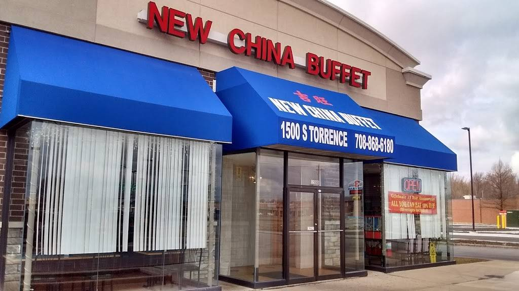 New China Buffet   restaurant   1500 Torrence Ave, Calumet City, IL 60409, USA   7088686180 OR +1 708-868-6180