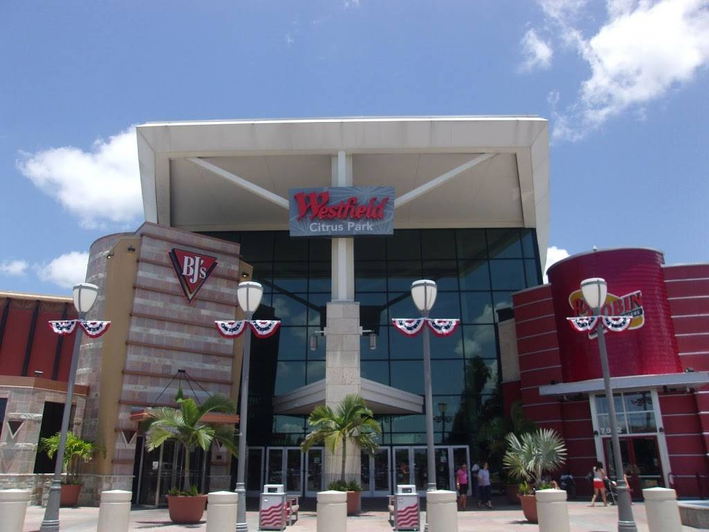 Westfield Citrus Park   shopping mall   8021 Citrus Park, Town Center, Tampa, FL 33625, USA   8139264644 OR +1 813-926-4644