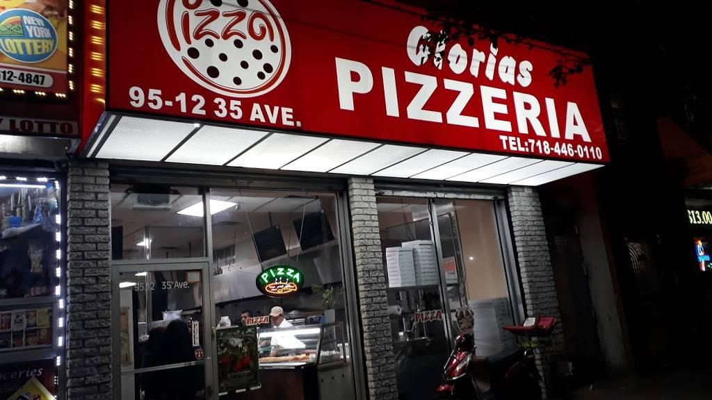 Glorias Pizzeria | restaurant | 95-12 35th Ave, Flushing, NY 11372, USA | 7184460110 OR +1 718-446-0110