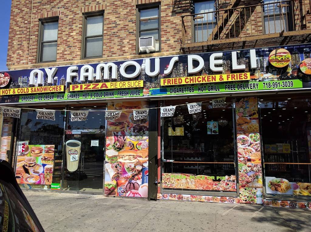NY Famous Deli | meal takeaway | 1683 E 172nd St, Bronx, NY 10472, USA | 7189913039 OR +1 718-991-3039