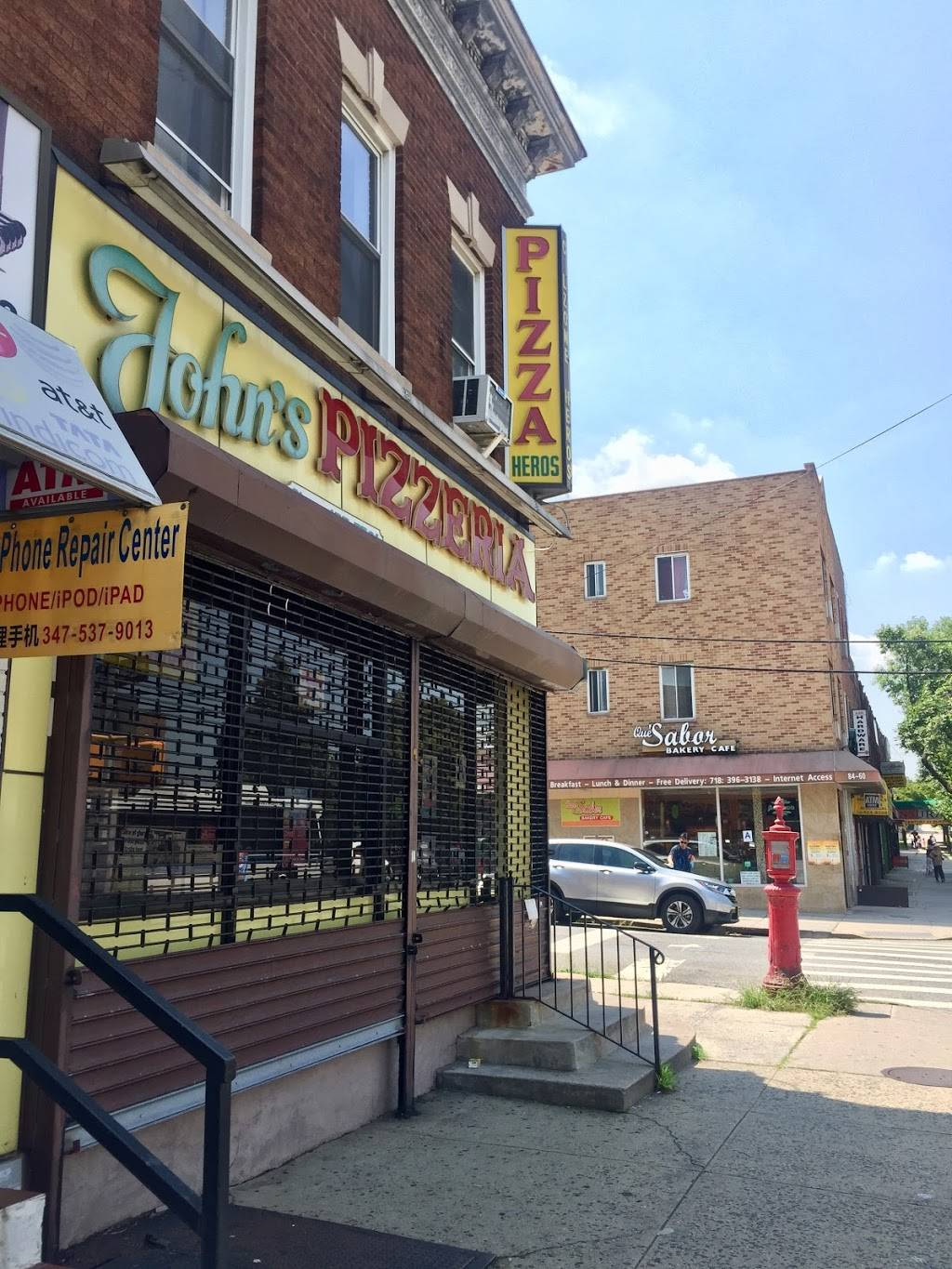 Johns Pizzeria | restaurant | 8502 Grand Ave, Elmhurst, NY 11373, USA | 7184577561 OR +1 718-457-7561