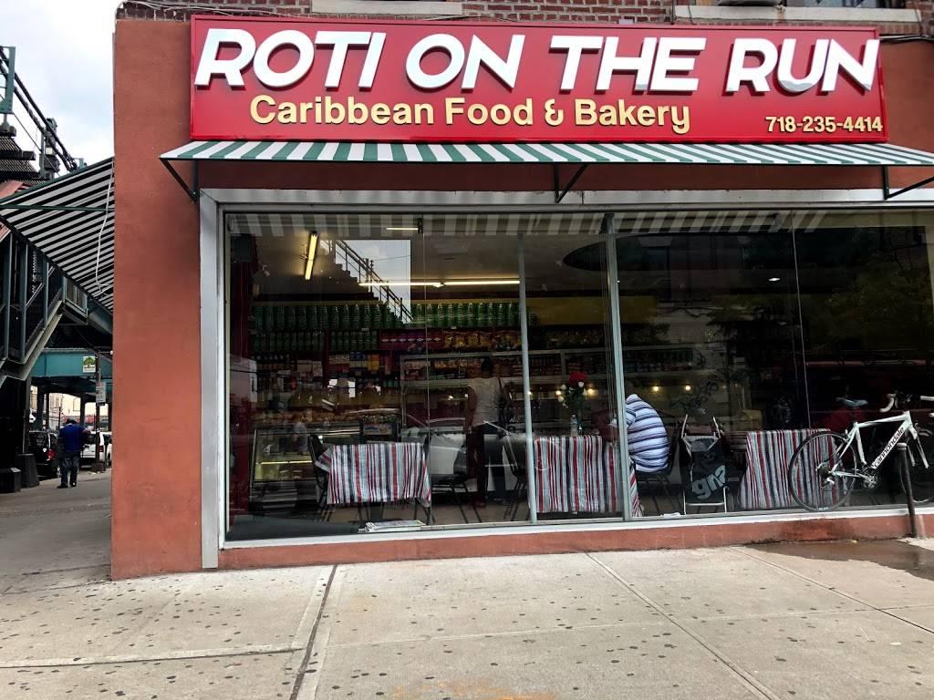 Roti on the Run | bakery | 3140 Fulton St, Brooklyn, NY 11208, USA | 7182354414 OR +1 718-235-4414