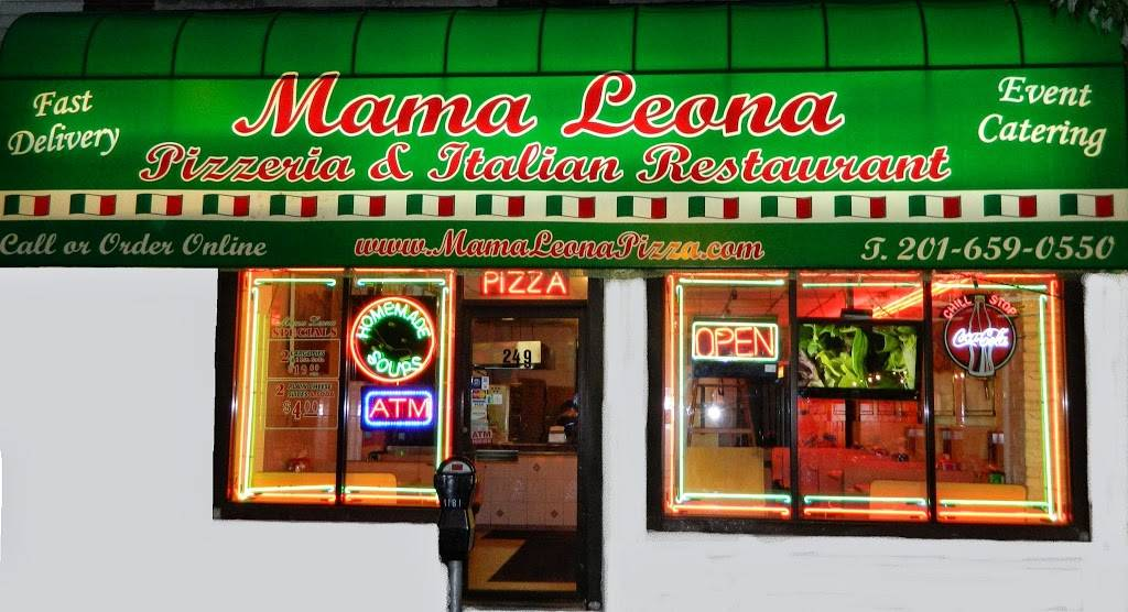 Mama Leona Pizza | meal delivery | 249 Central Ave, Jersey City, NJ 07307, USA | 2016590550 OR +1 201-659-0550