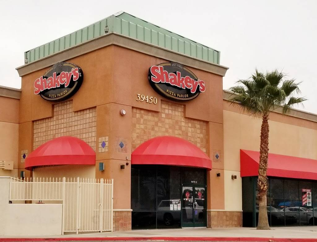 Shakeys Pizza Parlor | restaurant | 39450 10th St W, # A #A, Palmdale, CA 93550, USA | 6612733196 OR +1 661-273-3196