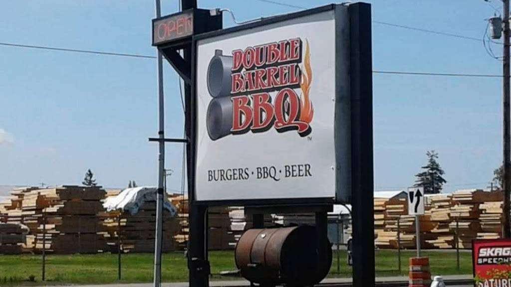 Double Barrel BBQ | restaurant | 108 W Moore St, Sedro-Woolley, WA 98284, USA | 3607707427 OR +1 360-770-7427
