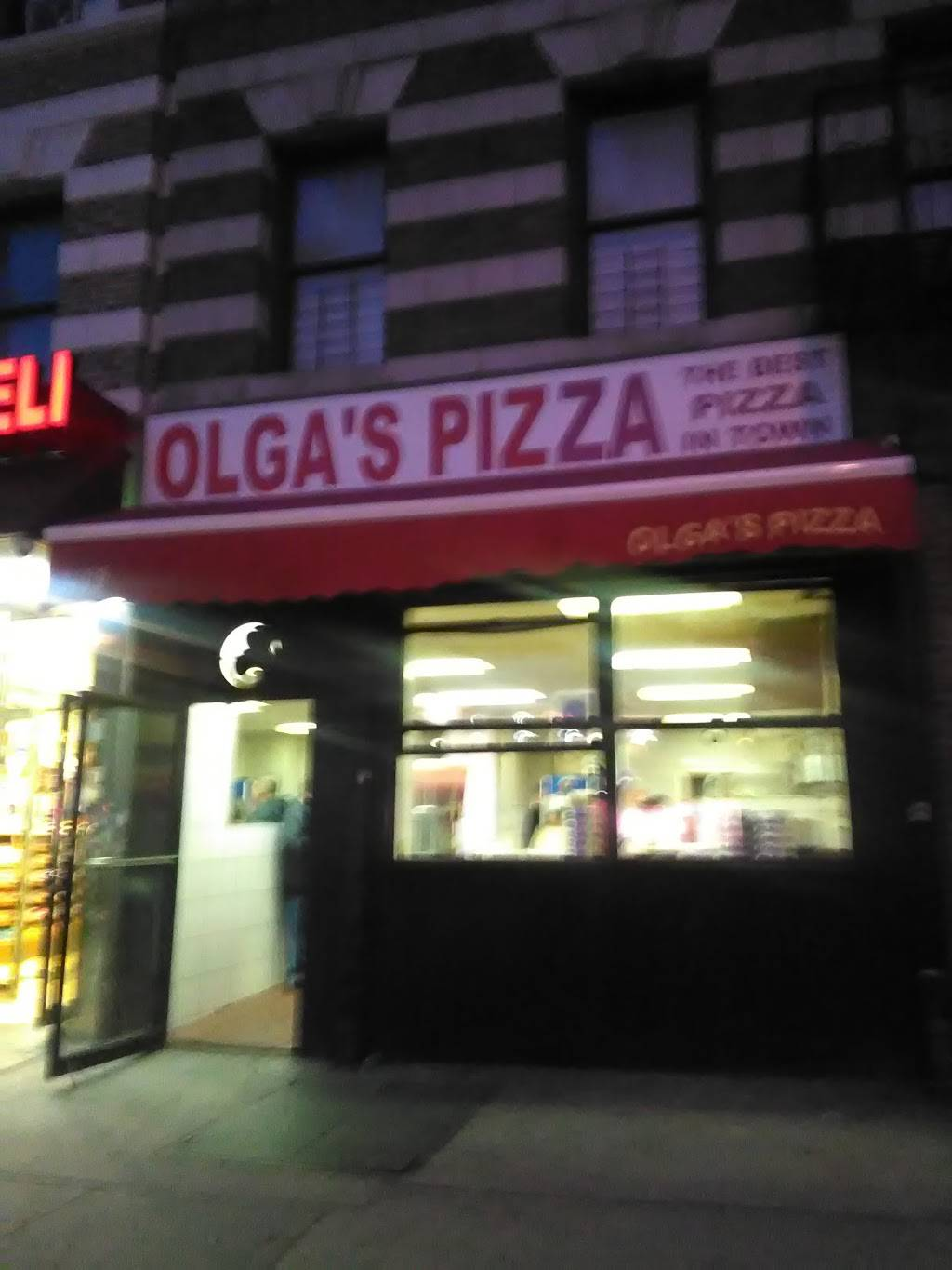 Olgas Pizza | restaurant | 3409 Broadway, New York, NY 10031, USA | 2122347878 OR +1 212-234-7878