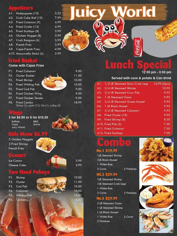 Juicy World Restaurant 55 Towne Centre Way Hampton
