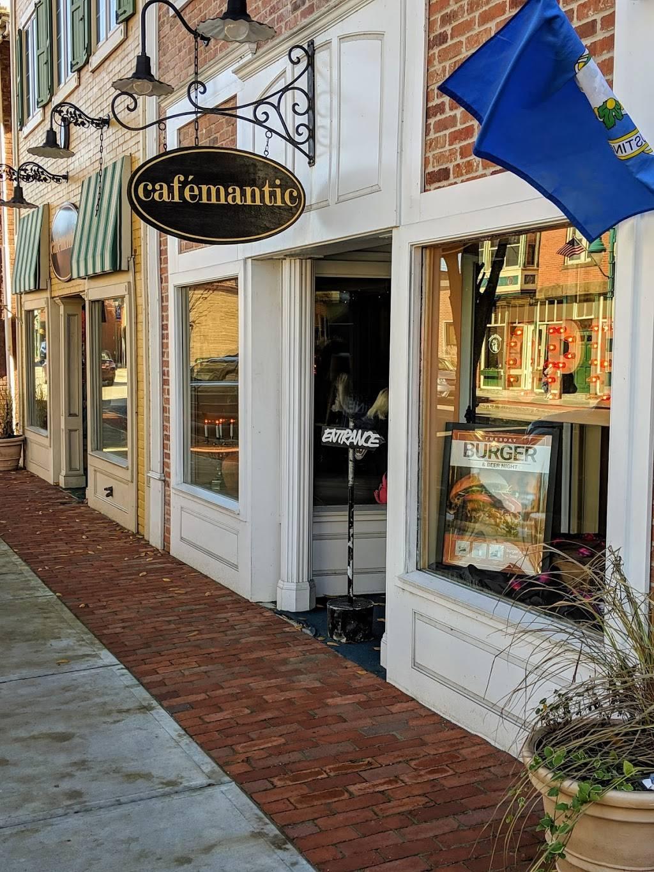 Cafemantic   restaurant   948 Main St, Willimantic, CT 06226, USA   8604234243 OR +1 860-423-4243