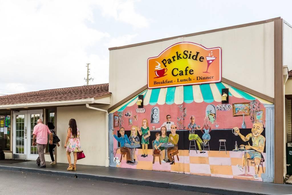 Parkside Cafe   cafe   8180 49th St N, Pinellas Park, FL 33781, USA   7275463600 OR +1 727-546-3600