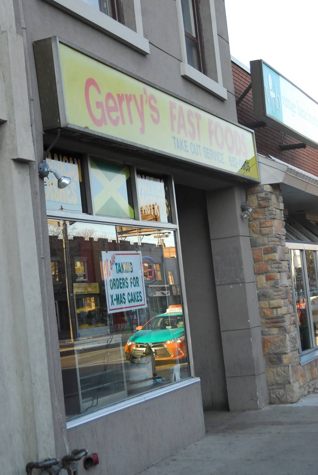 Gerrys Fast Foods | meal delivery | 724 St Clair Ave W, Toronto, ON M6C 1B3, Canada | 4166520605 OR +1 416-652-0605