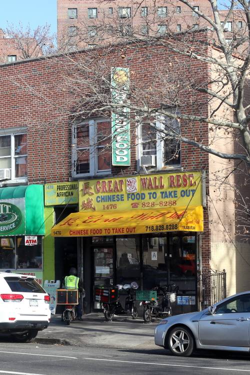 Great Wall   restaurant   1476 White Plains Rd # A, Bronx, NY 10462, USA   7188288288 OR +1 718-828-8288