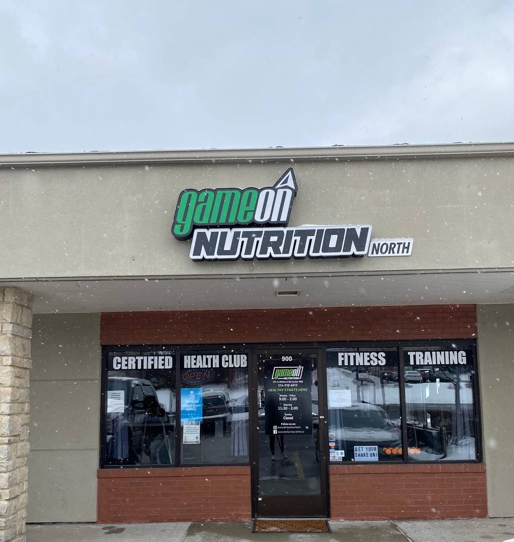 GAME ON NUTRITION & FITNESS | restaurant | 131 S Milford Rd SUITE 900, Milford, MI 48381, USA | 2143156612 OR +1 214-315-6612