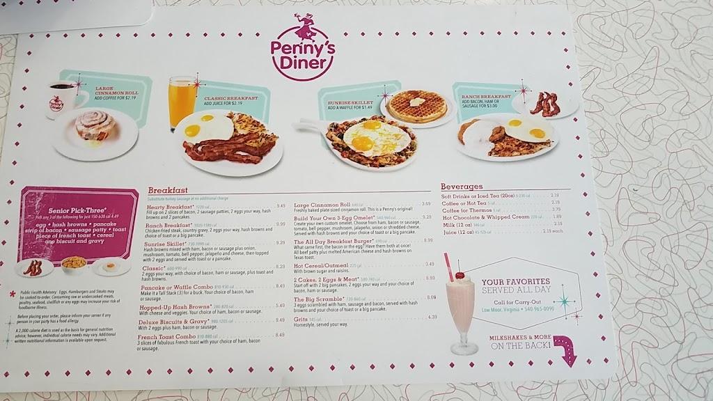Pennys Diner   restaurant   123 Westvaco Rd, Low Moor, VA 24457, USA   5409650090 OR +1 540-965-0090