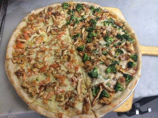 Kingston Pizza | meal delivery | 259 Kingston Ave, Brooklyn, NY 11213, USA | 7187747665 OR +1 718-774-7665