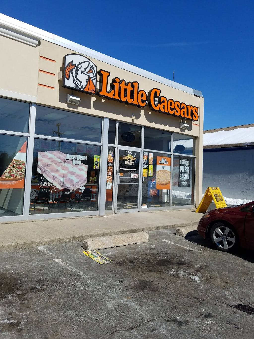 Little Caesars Pizza | meal takeaway | 1762 Boston Rd, Springfield, MA 01129, USA | 4135439237 OR +1 413-543-9237