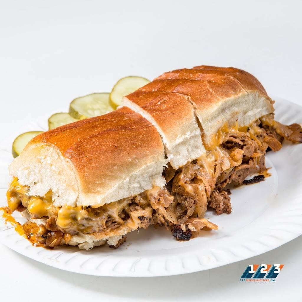 123 Burger Shot Beer | restaurant | 738 10th Ave, New York, NY 10019, USA | 2123150123 OR +1 212-315-0123