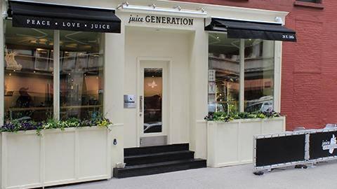 Juice Generation | restaurant | 28 E 18th St, New York, NY 10003, USA | 2125311110 OR +1 212-531-1110