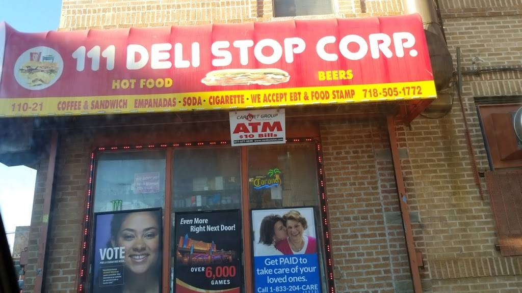 111 Deli Stop Corp | restaurant | 110-21 Northern Blvd, Flushing, NY 11368, USA