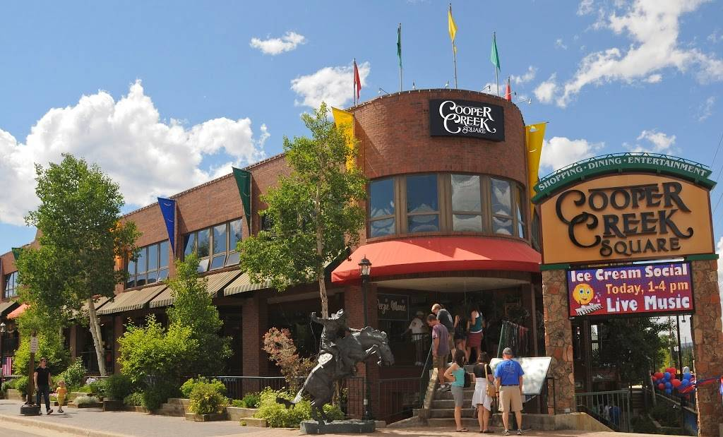 Cooper Creek Square | shopping mall | 47 Cooper Creek Way, Winter Park, CO 80482, USA | 9704609800 OR +1 970-460-9800