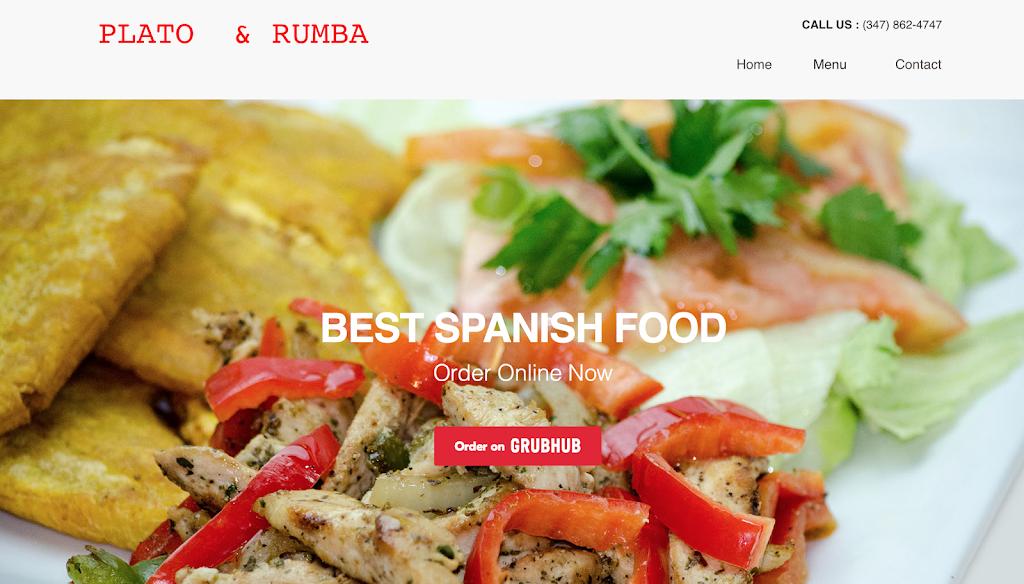 Plato & Rumba | restaurant | 2958 Jerome Ave, Bronx, NY 10468, USA | 3478624747 OR +1 347-862-4747