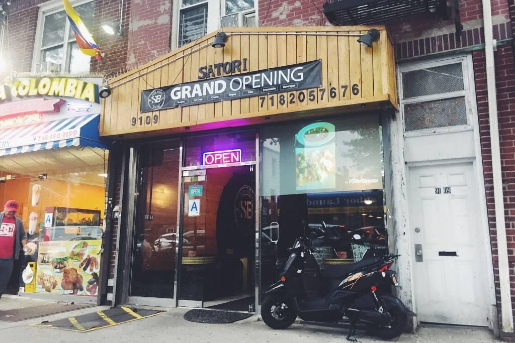 Satori Burgers | restaurant | 9109 31st Ave, East Elmhurst, NY 11369, USA | 7182057676 OR +1 718-205-7676