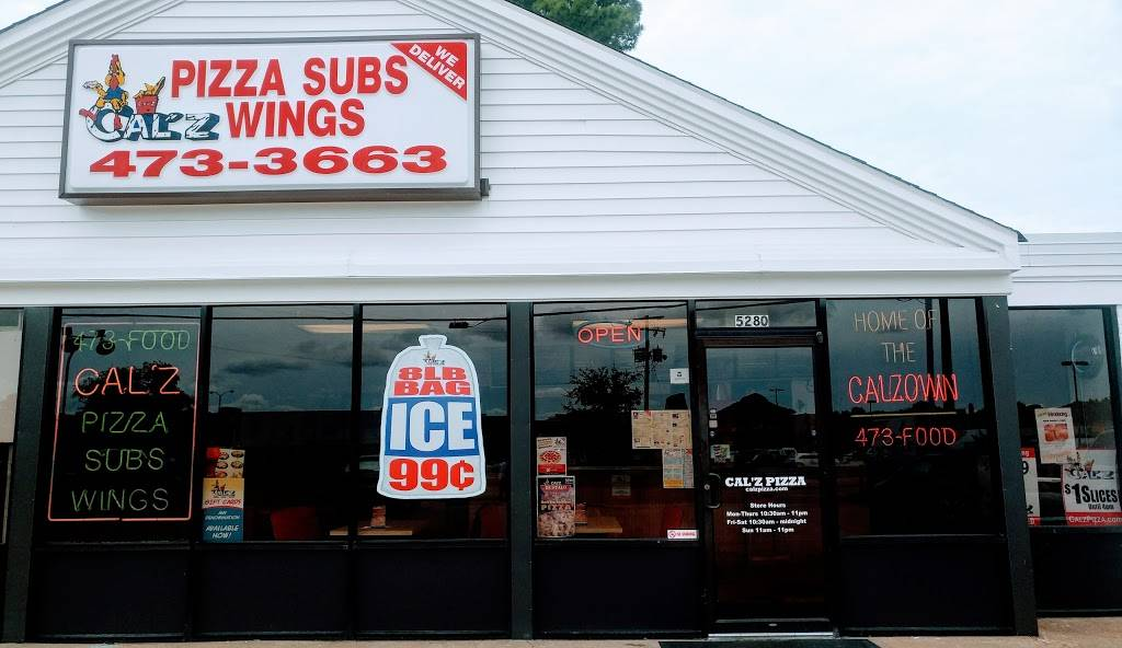 Calz Pizza   meal delivery   5280 Princess Anne Rd, Virginia Beach, VA 23462, USA   7574733663 OR +1 757-473-3663