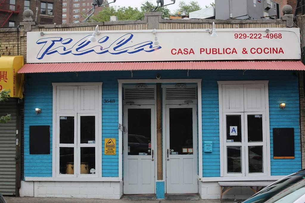 Tilila | restaurant | 3648 Bailey Ave, Bronx, NY 10463, USA | 9292224968 OR +1 929-222-4968