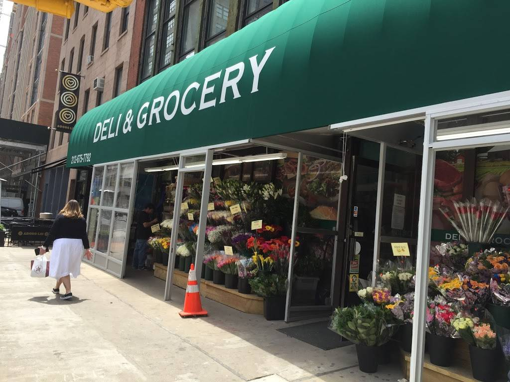 Ellens Deli & Grocery | meal takeaway | 289 Hudson St, New York, NY 10013, USA | 2126757792 OR +1 212-675-7792