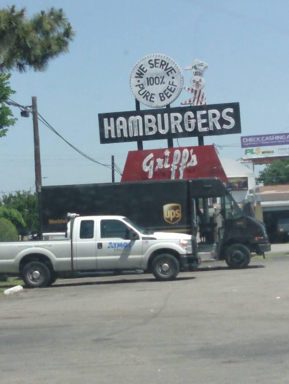 Griffs Hamburgers   restaurant   1150 S Buckner Blvd, Dallas, TX 75217, USA   2143987321 OR +1 214-398-7321