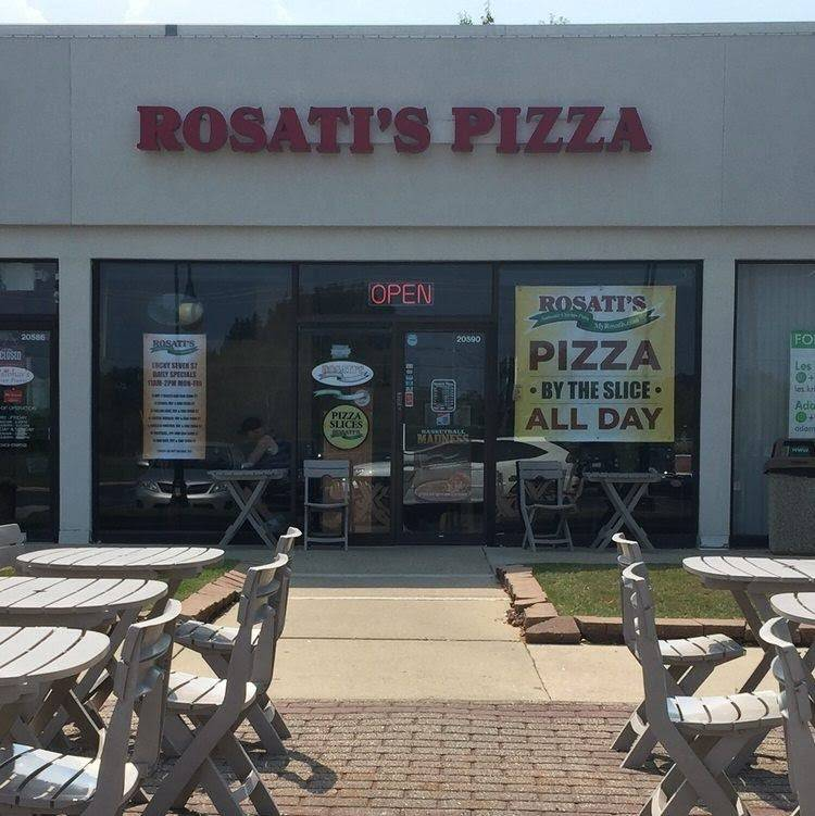 Rosatis Pizza   restaurant   20590 N Milwaukee Ave, Deerfield, IL 60015, USA   8475415558 OR +1 847-541-5558