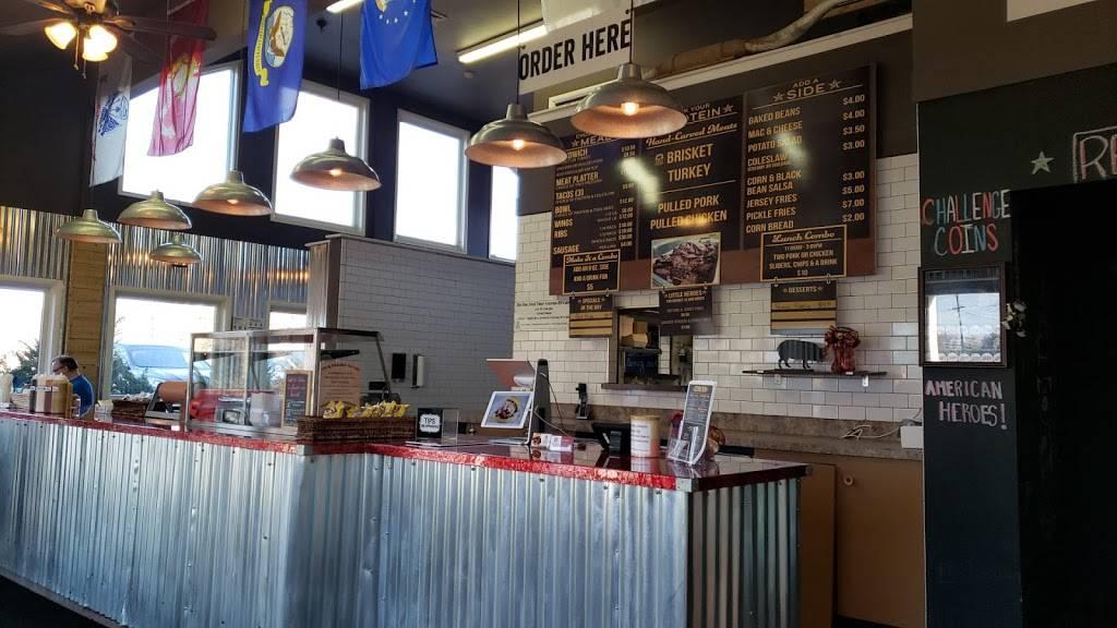 American Heroes Smokehouse   restaurant   1594 NJ-10, Randolph, NJ 07869, USA   9735840859 OR +1 973-584-0859