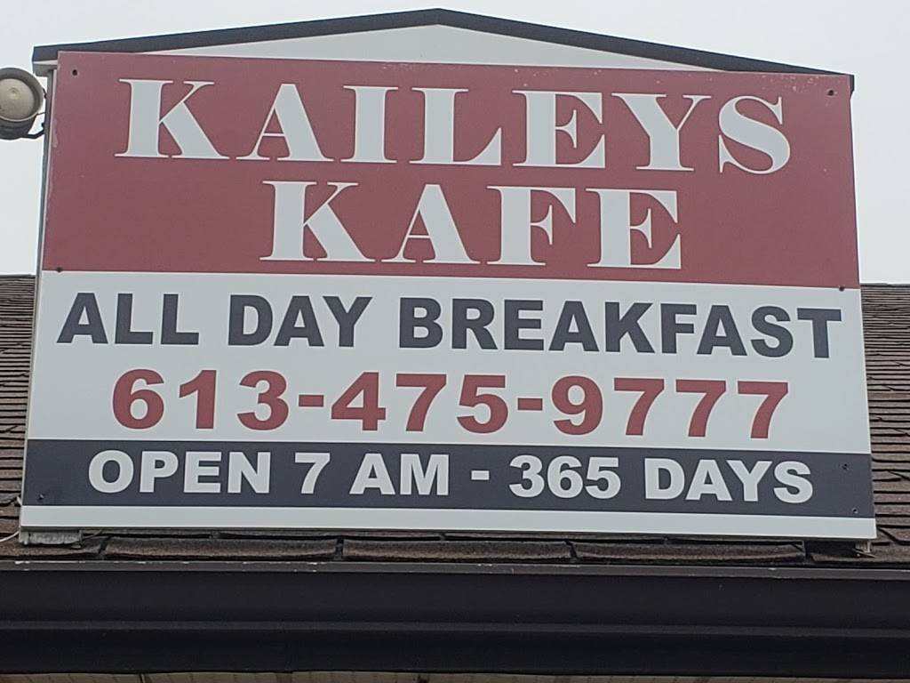 Kaileys Kafe   restaurant   8 Loyalist Dr unit 6, Brighton, ON K0K 1H0, Canada   6134759777 OR +1 613-475-9777