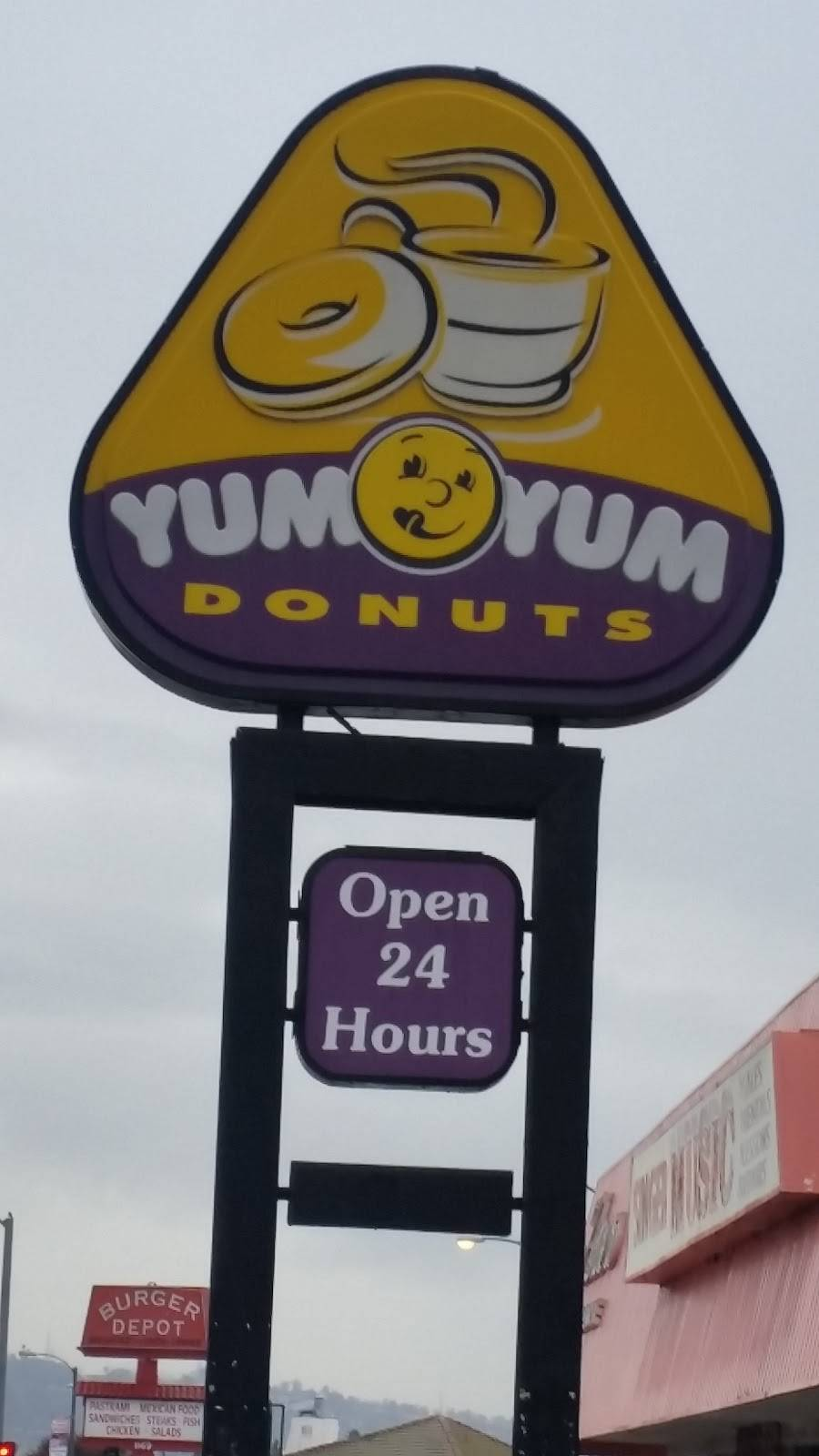 Yum Yum Donuts | cafe | 1225 N Hacienda Blvd, La Puente, CA 91744, USA | 6269179251 OR +1 626-917-9251