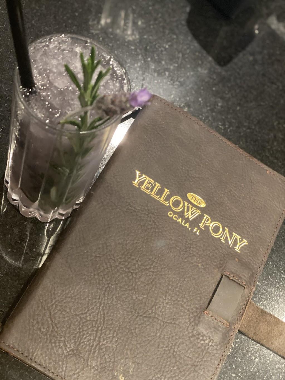 The Yellow Pony Pub and Garden   restaurant   8510 NW 17th Lane, Ocala, FL 34482, USA   3524147900 OR +1 352-414-7900