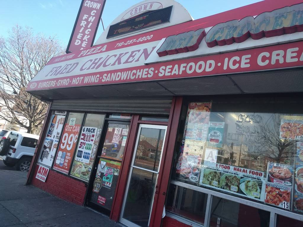 Crown Fried Chicken   restaurant   2106 Linden Blvd, Brooklyn, NY 11207, USA   7182576800 OR +1 718-257-6800