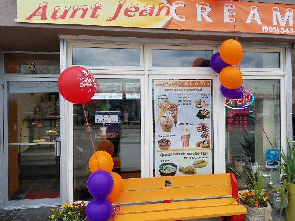AuntJean Creams | cafe | 36 Parkdale Ave N #3, Hamilton, ON L8H 5W8, Canada | 9055438008 OR +1 905-543-8008