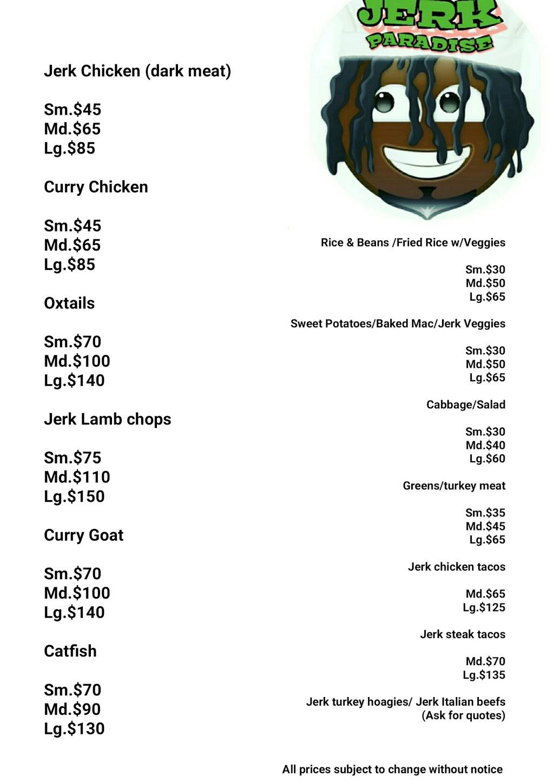 Jerk paradise | restaurant | 1713, 1115 S Park St, Madison, WI 53715, USA | 7739965880 OR +1 773-996-5880
