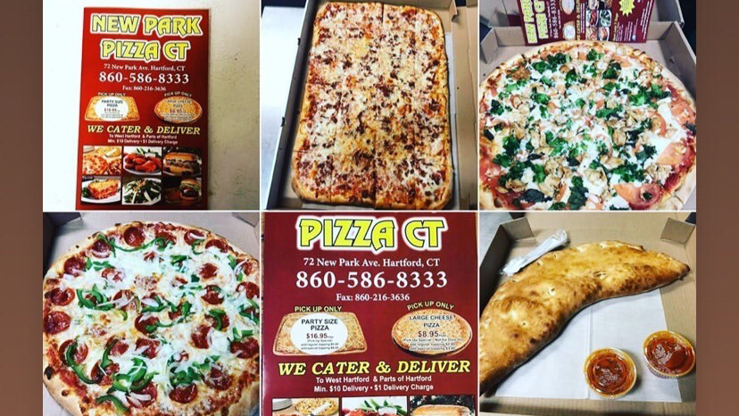 New Park Pizza CT | meal delivery | 72 New Park Ave, Hartford, CT 06106, USA | 8605868333 OR +1 860-586-8333
