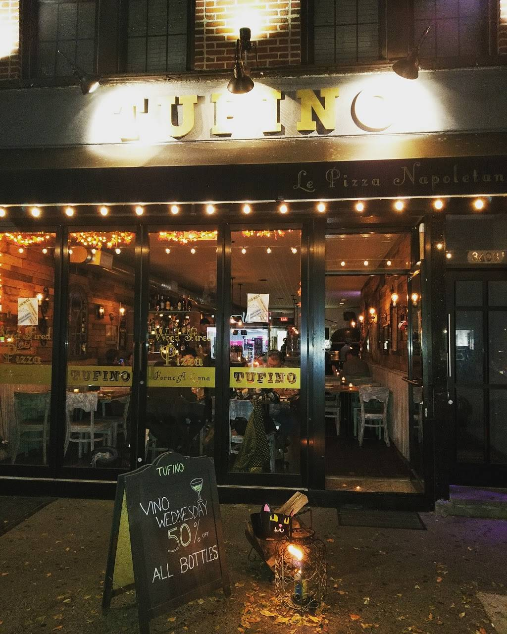 Tufino Pizzeria Napoletana   meal delivery   36-08 Ditmars Blvd, Astoria, NY 11105, USA   7182784800 OR +1 718-278-4800