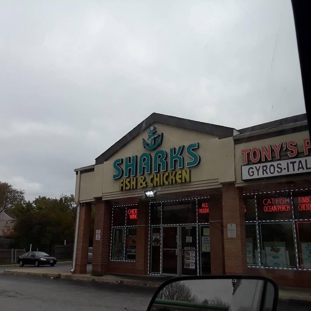 Sharks Fish & Chicken | restaurant | 17455 Kedzie Ave, Hazel Crest, IL 60429, USA | 7083359000 OR +1 708-335-9000